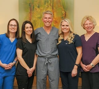 Doctor Hermen and his dental team